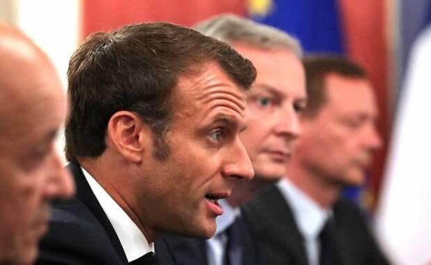 Макрон: Русские должны уйти из Ливии как можно скорей