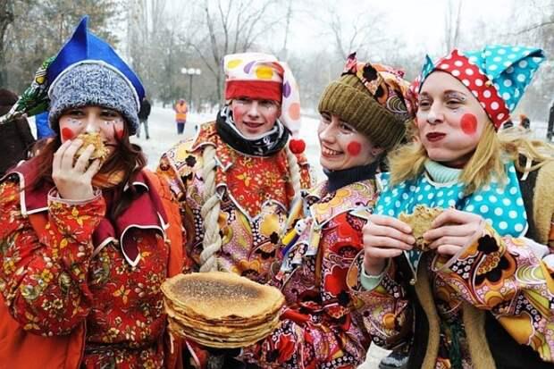 Украинский национализм объявил войну Масленнице
