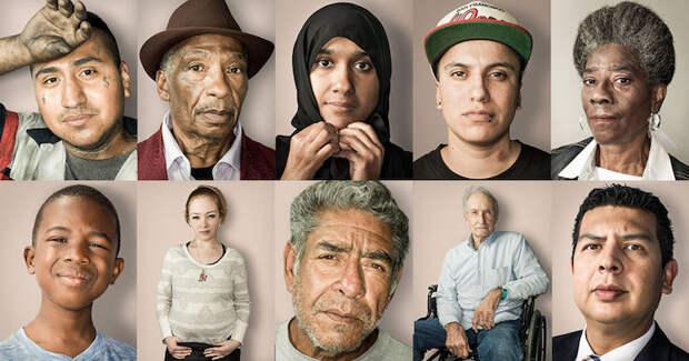 Портреты американцев