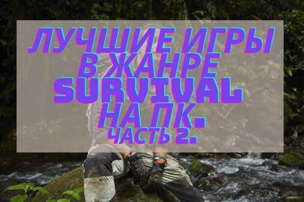 Лучшие survival игры на ПК. Часть 2