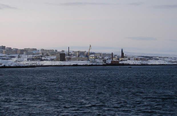 Город Островной с причала Гремихи, 2006 год