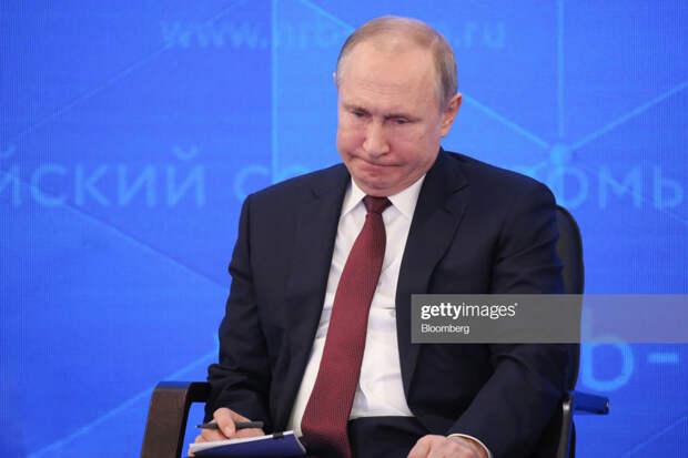 О вопросе, сломавшем Путина