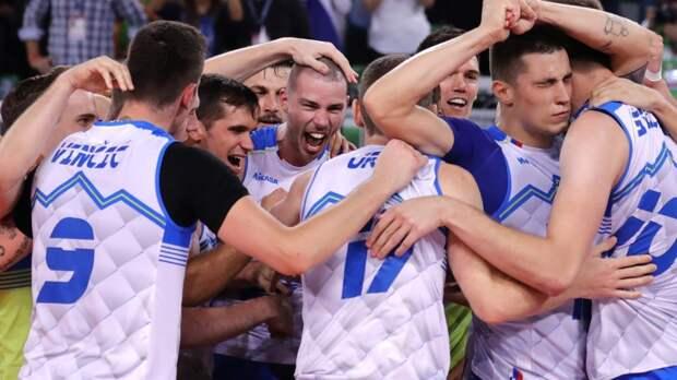 Сборная России по волейболу потерпела первое поражение на предварительном этапе Лиги наций
