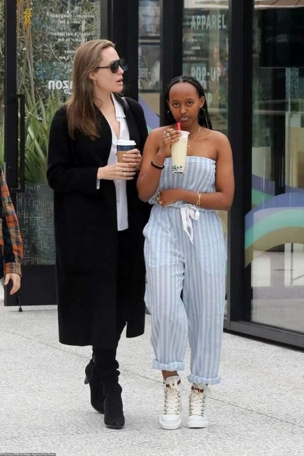 Как выглядит старшая приемная дочь в семье Анджелины Джоли и Брэда Питта