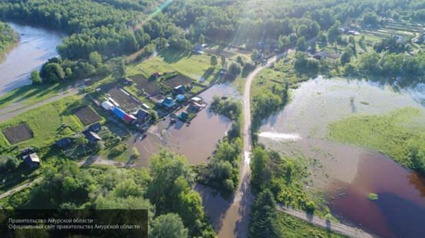 Военнослужащие помогают справиться с паводками на территории Амурской области