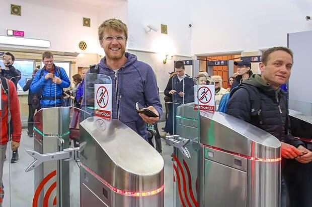 Власти Москвы введут оплату проезда в метро по скану лица