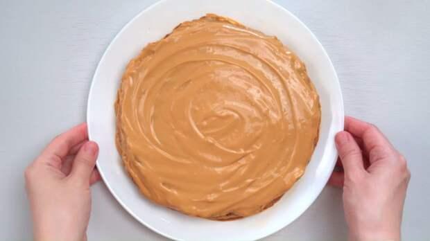 Торт-пирожное к чаю без духовки — проще и вкуснее не бывает