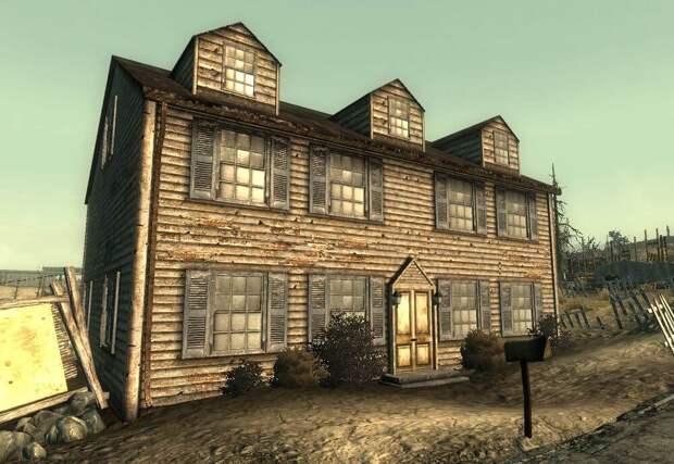Деревянные здания простояли 200 лет после ядерного апокалипсиса – Fallout 3