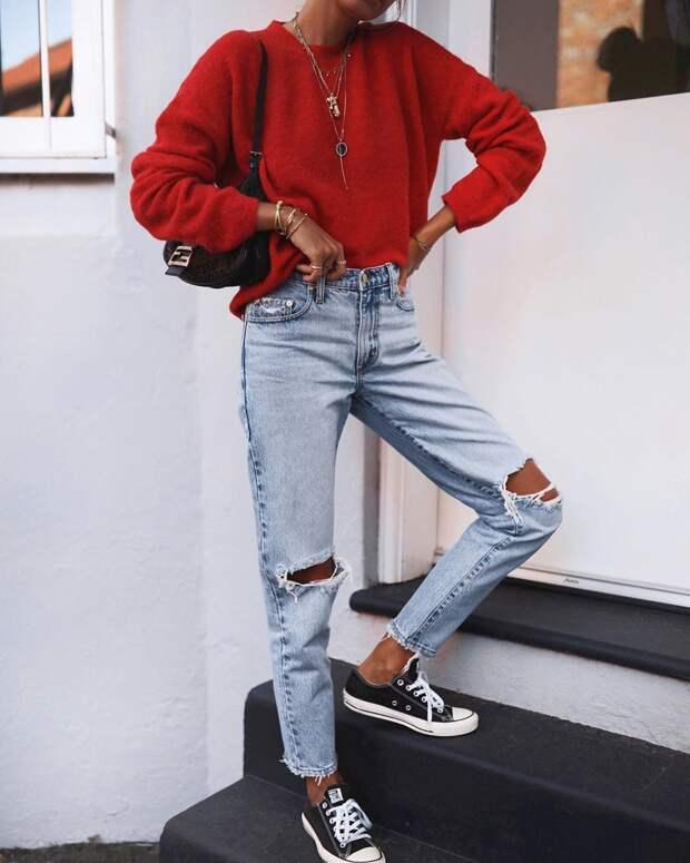 модные джинсы, которые все будут носить этой осенью фото 11