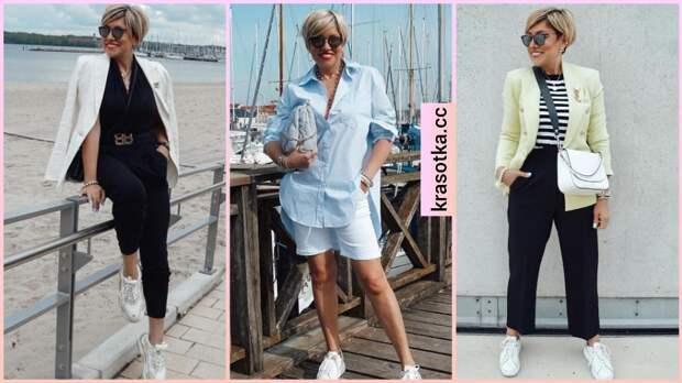 Летний casual для женщин 40-50 лет: 12 невероятно стильных образов