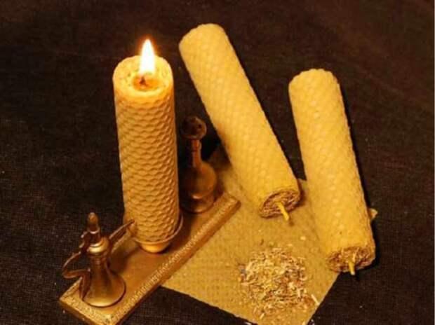Как сделать оберег из восковой свечи и зарядить его на счастье
