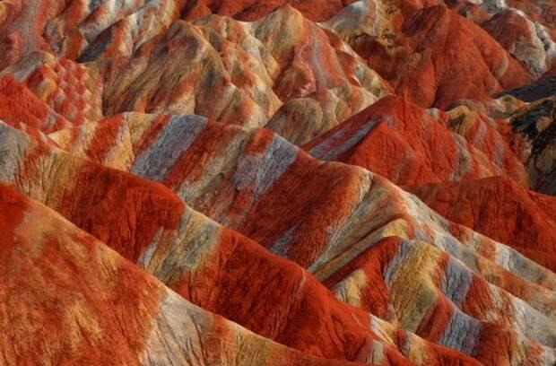 ✨ 6 сказочных фото разноцветных гор Дэнксия в Китае