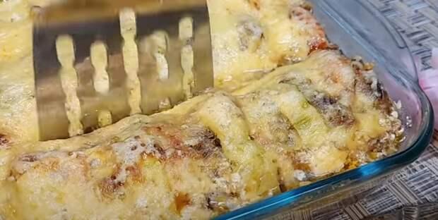 Вкуснее голубцов! Кабачки с фаршем в духовке: быстрый и вкусный ужин из кабачков