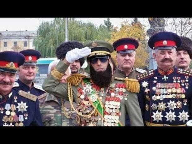 За какие заслуги у современных российских казаков огромное количество наград?