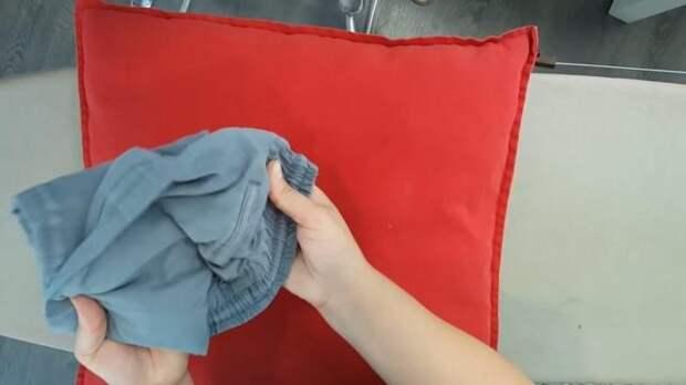 Отличный способ складывать одежду