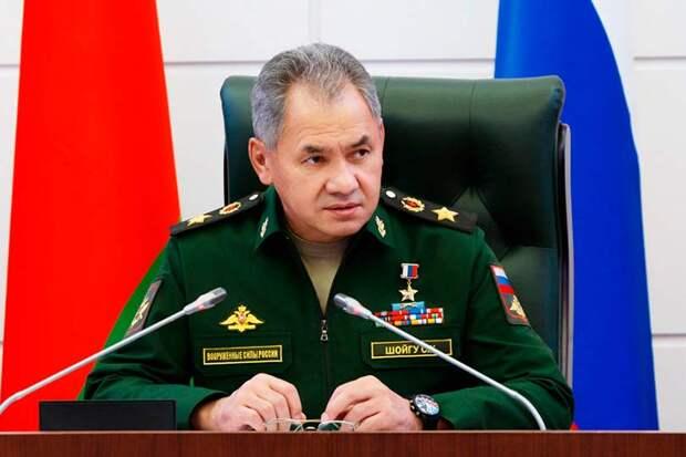 Шойгу прокомментировал военное сотрудничество России с Белоруссией в 2022 году