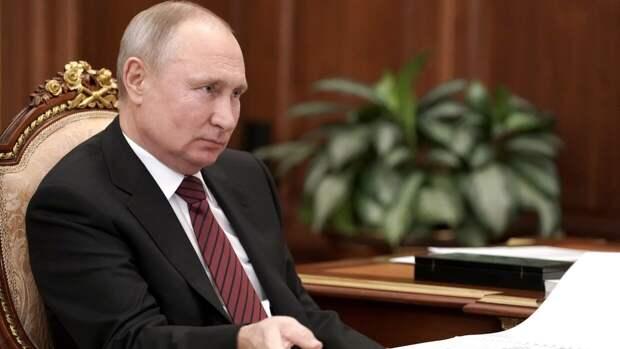 Владимир Путин начал церемонию оглашения послания Федеральному собранию