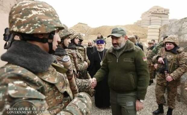 Пашинян: «Кто дал право натовской Турции воевать наЮжном Кавказе?»