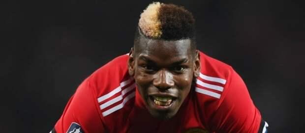 Погба готов остаться в «Манчестер Юнайтед», если будет получать 500 тысяч фунтов внеделю