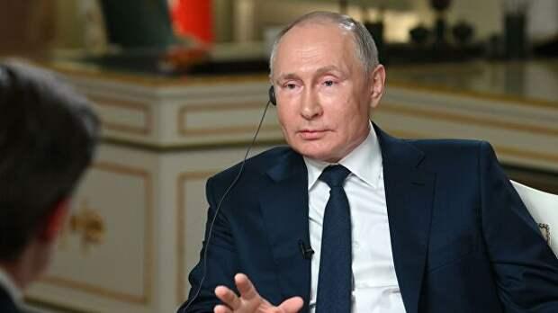 Россия готова к переговорам по контролю над вооружениями, заявил Путин