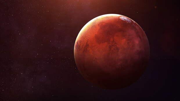 Генетик: источником потенциальной жизни на Марсе может быть NASA