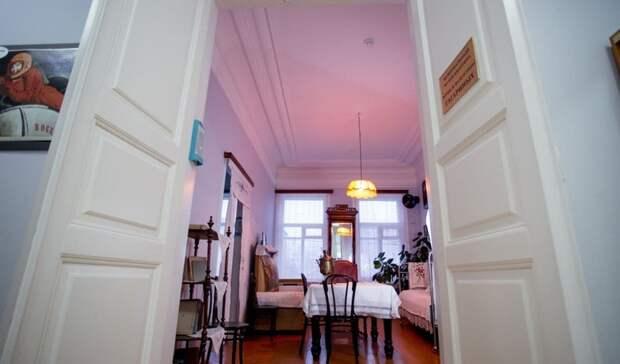 Занеделю более 800 человек посетили музей-квартиру семьи Гагариных вОренбурге