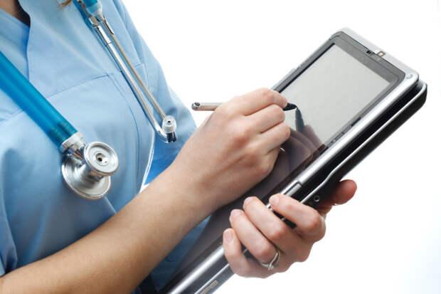 1. Электронные карты отсутствие технологий, поликлиники, прошлый век