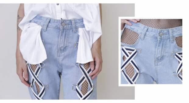 Летние джинсы на жару (DIY)