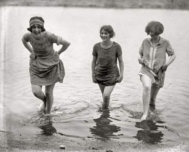 Легкомысленные девушки начала ХХ века