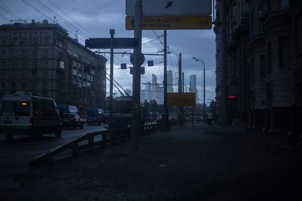 Москвичей ожидает длительный ливень