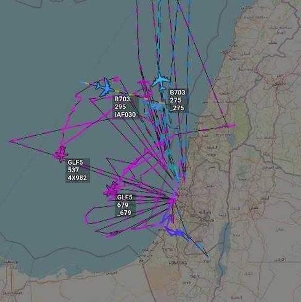 Истребители ВКС РФ сорвали военную операция Израиля в Сирии