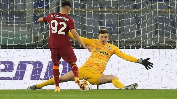 «Рома» разгромила «Шахтер» в первом матче 1/8 финала Лиги Европы