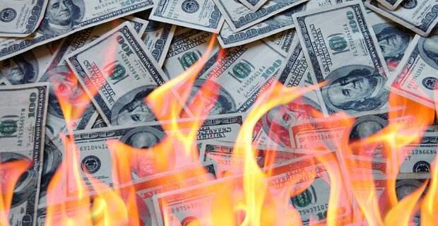 Наконец США стали проедать собственные деньги