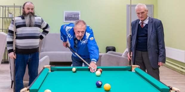 Собянин рассказал о развитии сети городских клубов для старшего поколения / Фото: М.Мишин, mos.ru