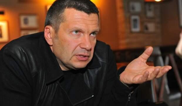 """""""Американцы, вы восхитительны!"""" Соловьёв попросил Nexta """"пояснить за Капитолий"""""""