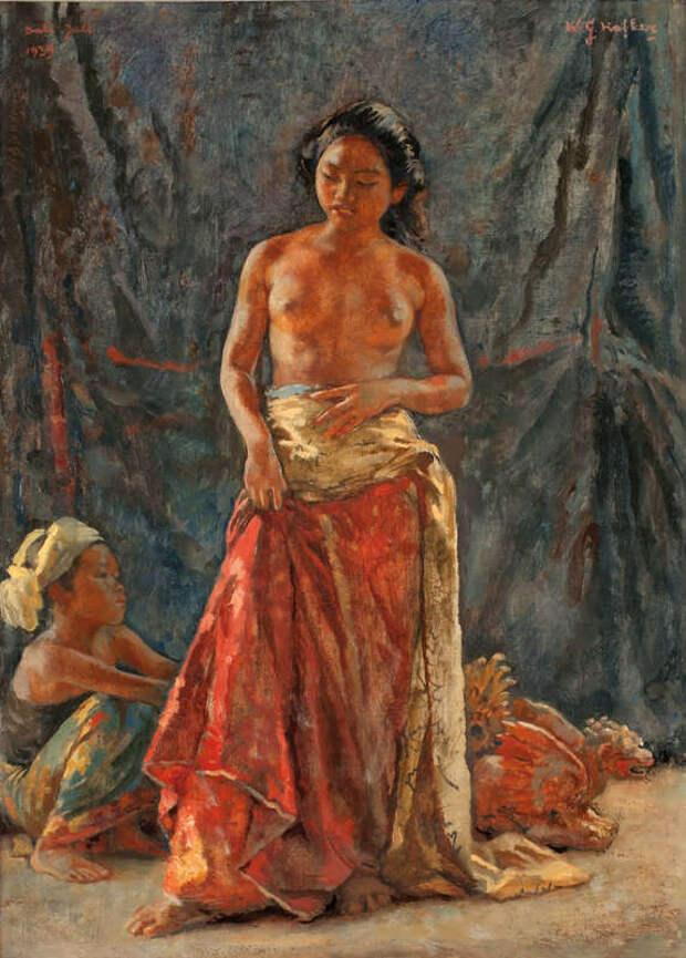 Обнаженная натура в изобразительном искусстве разных стран. Часть 84