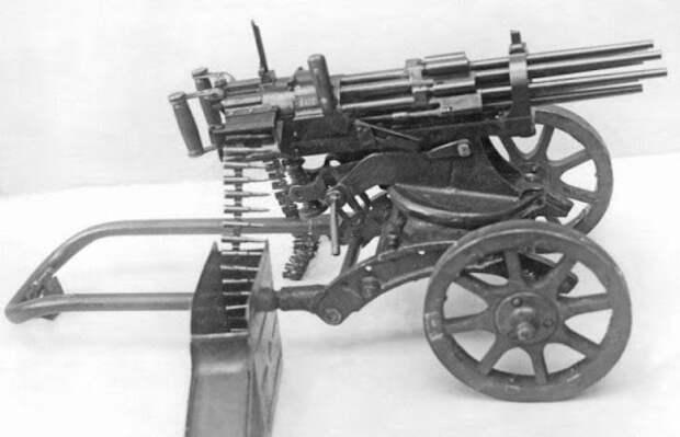 Пулемёт Слостина: как стрелял советский восьмиствольный пулемёт