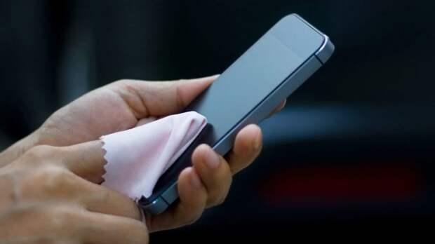 дезинфекция смартфона
