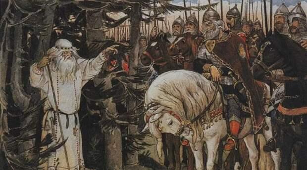Что за змея подколодная погубила вещего князя Олега?: Оригинальная гипотеза