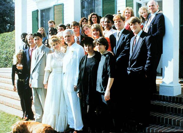 Свадьба Джейн с третьим мужем Тедом Тернером