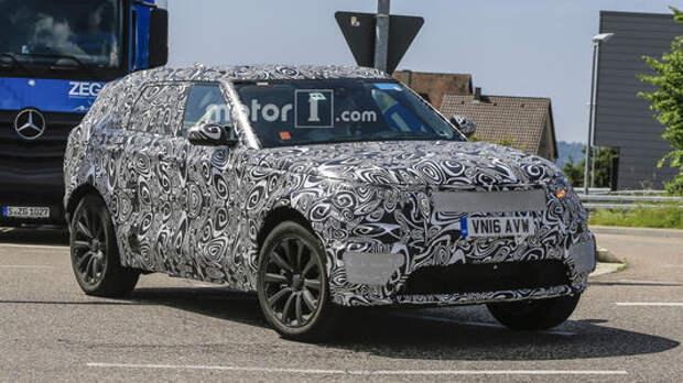 Range Rover выбирает электричество