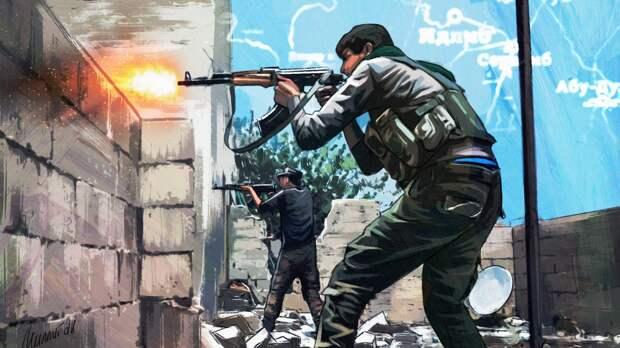 Трое сирийских военных погибли при обстреле боевиков на юго-западе Идлиба