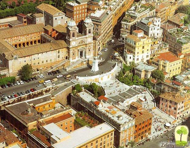 Испанская лестница в Риме - 138 ступеней восторга - 5