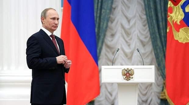 Путин наградил Ковальчука орденом за вклад в развитие Крыма