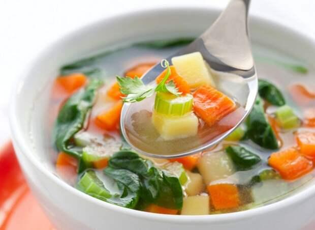 Суп из моркови и сельдерея