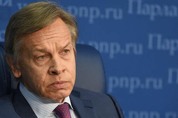 Пушков оценил обустройство Киевом госграницы с Россией