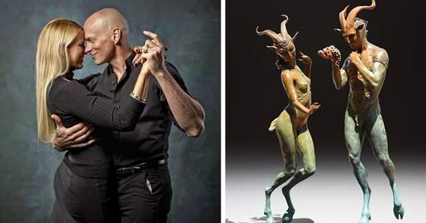Прогулка по полям воображения: удивительные скульптуры Колин и Кристин Пул