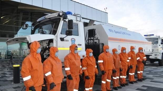Спасатели из Ростовской области приедут в Крым помогать бороться с непогодой