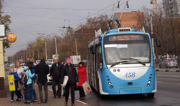 Троллейбусный маршрут М8 вБелгороде запустят постарой схеме
