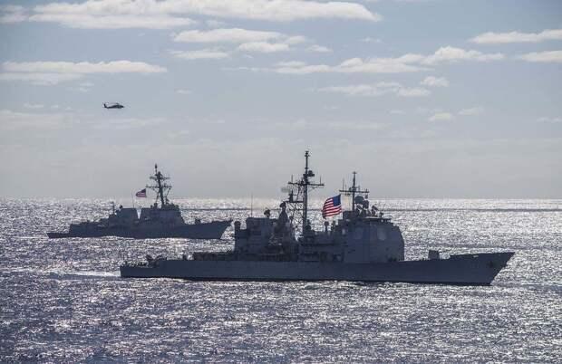 Российские комплексы РЭБ сломали радары эсминцев США в Черном море